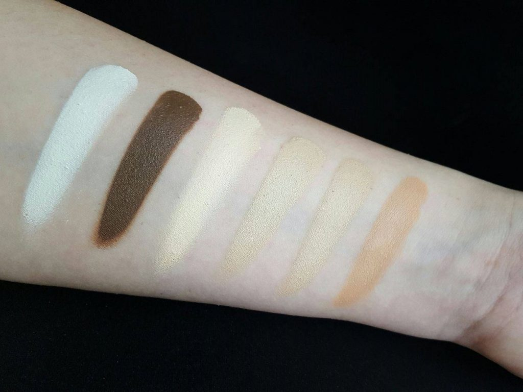 Paleta-farduri-cremoase-Mat-Make-up-Maqpro-Paris-Magazinul-de-makeup-thebeautycorner-2016-swatches