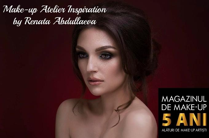 Make-up Atelier Inspiration by Renata Abdullaeva, Editia a II-a, Magazinul de Make-up, thebeautycorner.ro