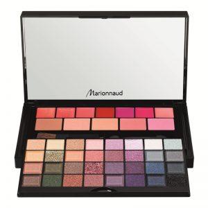 Small Makeup Palette Marionnaud Christmas 2017 thebeautycorner.ro