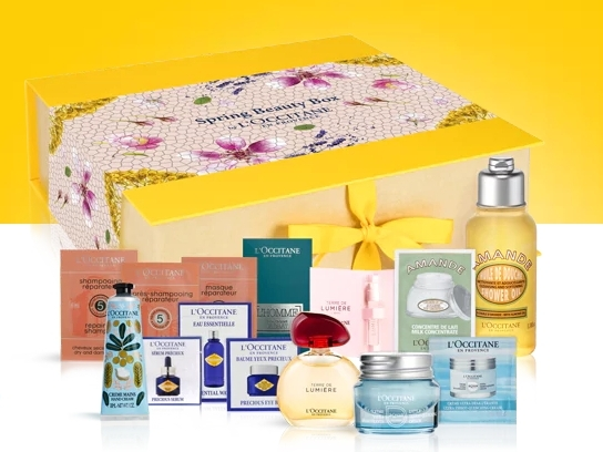 Spring Beauty Box L'Occitane-thebeautycorner.ro